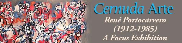 Cernuda Arte Gallery - Rene Portocarrero Exhibit