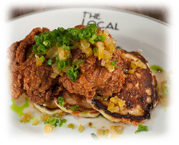 fried chicken is a favorite at The Local Craft Food And Drink