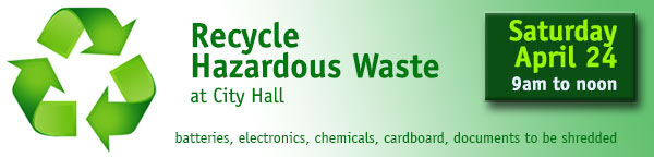 Drive-thru Household Hazardous Waste Collection