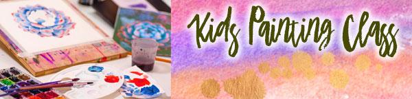 Kids Painting Class at Giralda Plaza