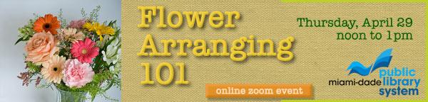 Flower Arranging 101