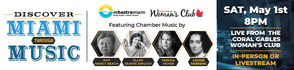Orchestra Miami at the Coral Gables Womans Club