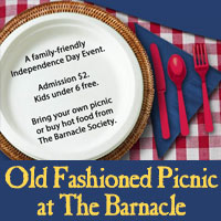 July 4th Old Fashioned Picnic at The Barnacle