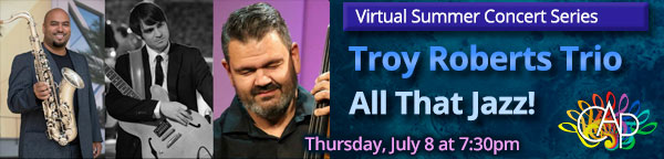 Troy Roberts Trio - All That Jazz!