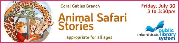 Online Event: Animal Safari Stories