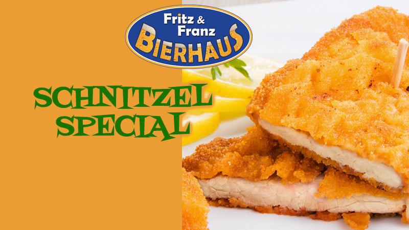 Bierhaus Schnitzel Special