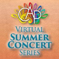 Community Arts Program Virtual Summer Concert Series