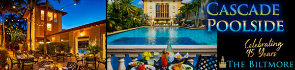 Poolside Dining - Cascade at The Biltmore