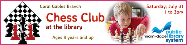 Chess Club at the Library