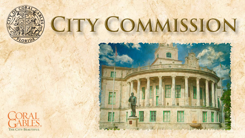 Coral Gables City Commission Meeting