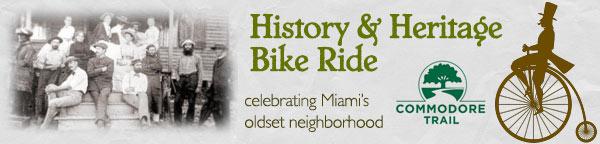 History and Heritage Bike Ride - Coconut Grove