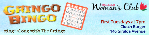Gringo Bongo - First Tuesday at Clutch Burger